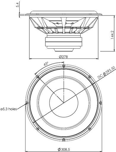 Dual Voice Coil Speaker Diagram