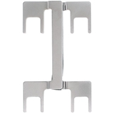 Dayton Audio PJMP-SN Dual Binding Post Jumper Satin Nickel