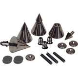 DSS4-BC Black Chrome Speaker Spike Set 4 Pcs.