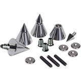 DSS4-CH Chrome Speaker Spike Set 4 Pcs.