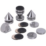 ISO-4C Black Chrome Isolation Cone Set 4 Pcs.