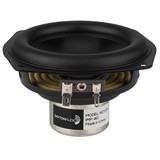 "ND105-4 4"" Aluminum Cone Midbass Driver 4 Ohm"