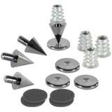 DSS2-BC Black Chrome Spike Set 4 Pcs.