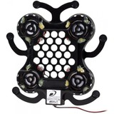 Dayton Audio DAEX25X4-4 Bullfrog Vented Disc Spider 25 mm x 4 Exciter 320 mm Cable and Connectors 40W 4 Ohm