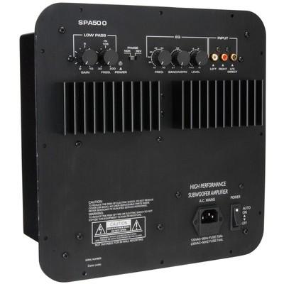 SPA500 500W Subwoofer Plate Amplifier - Dayton Audio