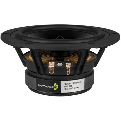"RS150-4 6"" Reference Woofer 4 Ohm"