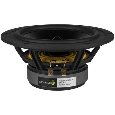 "RS180-4 7"" Reference Woofer 4 Ohm"