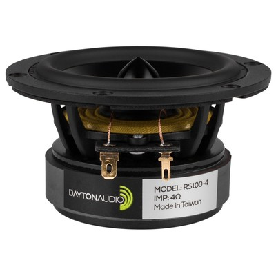 "RS100-4 4"" Reference Full-Range Driver 4 Ohm"