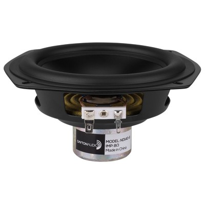 "ND140-8 5-1/4"" Aluminum Cone Midbass Driver 8 Ohm"