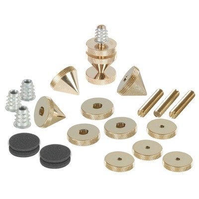DSS6-G Gold Spike Set 4 Pcs.