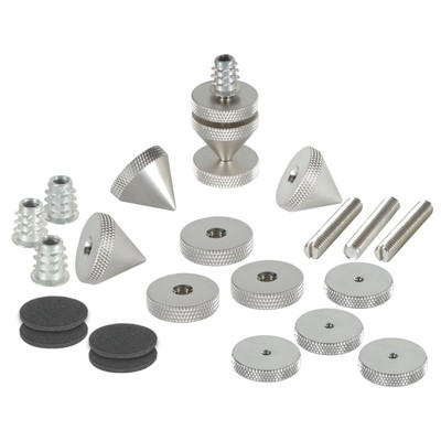 DSS6-SN Satin Nickel Spike Set 4 Pcs.