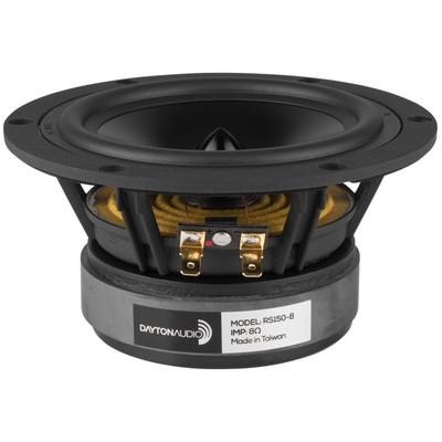 "RS150-8 6"" Reference Woofer 8 Ohm"