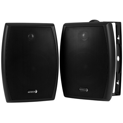 "IO655B 6-1/2"" 2-Way Indoor/Outdoor Speaker Pair Black"