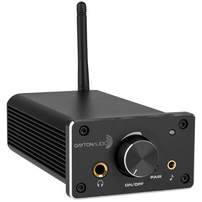 Dayton Audio DTA-120BT Class D Mini Amplifier 60 WPC with Bluetooth
