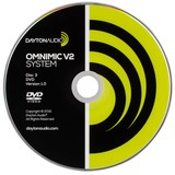 OMDVD Version 1 Test DVD for OmniMic Precision Measurement Systems